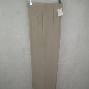 JM Collection Dress Pants Size 8 Elastic Waist New